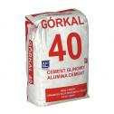 Cement ogniotrwały Górkal 25kg